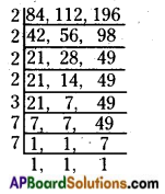 AP Board 6th Class Maths Solutions Chapter 3 HCF and LCM Ex 3.6 4