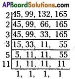 AP Board 6th Class Maths Solutions Chapter 3 HCF and LCM Ex 3.6 6