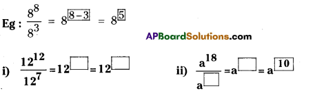 AP Board 7th Class Maths Solutions Chapter 11 Exponents InText Questions 4