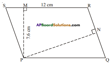AP Board 7th Class Maths Solutions Chapter 13 Area and Perimeter Ex 2 2