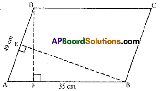 AP Board 7th Class Maths Solutions Chapter 13 Area and Perimeter Ex 2 3