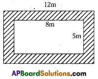 AP Board 7th Class Maths Solutions Chapter 13 Area and Perimeter Ex 6 4