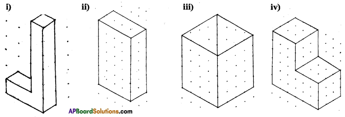 AP Board 7th Class Maths Solutions Chapter 14 Understanding 3D and 2D Shapes Ex 3 2