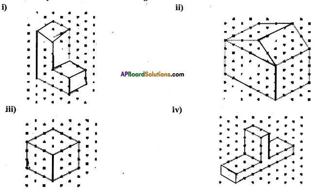 AP Board 7th Class Maths Solutions Chapter 14 Understanding 3D and 2D Shapes Ex 3 5