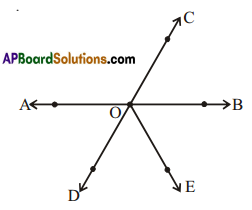 AP Board 7th Class Maths Solutions Chapter 4 Lines and Angles Ex 6 1
