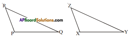 AP Board 7th Class Maths Solutions Chapter 8 Congruency of Triangles Ex 4 2