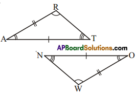 AP Board 7th Class Maths Solutions Chapter 8 Congruency of Triangles Ex 4 8