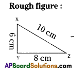AP Board 7th Class Maths Solutions Chapter 9 Construction of Triangles Ex 1 4