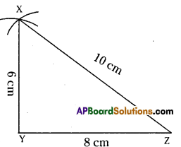 AP Board 7th Class Maths Solutions Chapter 9 Construction of Triangles Ex 1 5