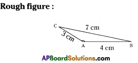 AP Board 7th Class Maths Solutions Chapter 9 Construction of Triangles Ex 1 6
