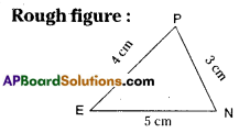 AP Board 7th Class Maths Solutions Chapter 9 Construction of Triangles Ex 1 8