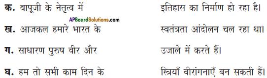 AP Board 9th Class Hindi Solutions Chapter 6 बेटी के नाम पत्र 2