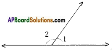 AP Board 9th Class Maths Notes Chapter 4 Lines and Angles 12