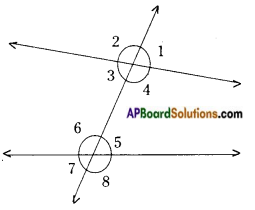 AP Board 9th Class Maths Notes Chapter 4 Lines and Angles 15