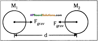 AP Board 9th Class Physical Science Important Questions Chapter 8 Gravitation 9