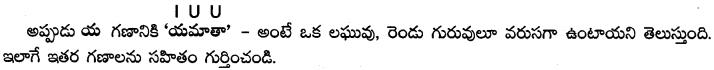 AP SSC 10th Class Telugu Grammar Chandassu ఛందస్సు 12