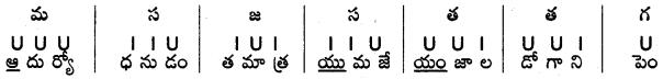 AP SSC 10th Class Telugu Grammar Chandassu ఛందస్సు 19