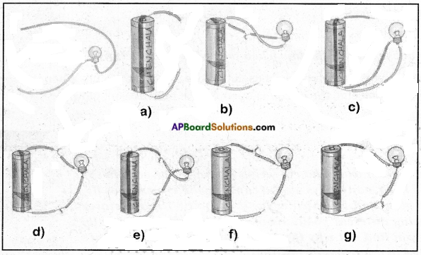 AP Board 6th Class Science Solutions Chapter 10 Basic Electric Circuits 9a
