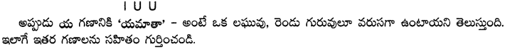 AP Board 9th Class Telugu Grammar Chandassu ఛందస్సు 15