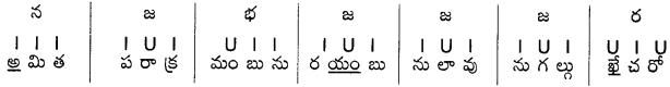 AP Board 9th Class Telugu Grammar Chandassu ఛందస్సు 22