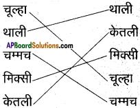 AP Board 6th Class Hindi Solutions सन्नद्धता कार्यक्रम Chapter 4 रसोई घर 6