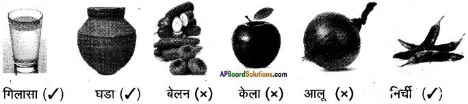 AP Board 6th Class Hindi Solutions सन्नद्धता कार्यक्रम Chapter 4 रसोई घर 8