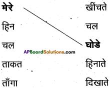 AP Board 6th Class Hindi Solutions Chapter 2 चल मेरे घोडे 3