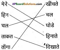 AP Board 6th Class Hindi Solutions Chapter 2 चल मेरे घोडे 4
