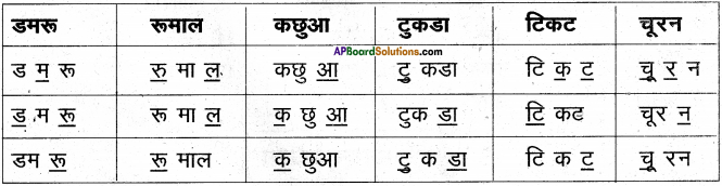 AP Board 6th Class Hindi Solutions Chapter 3 ऊँट चला 13