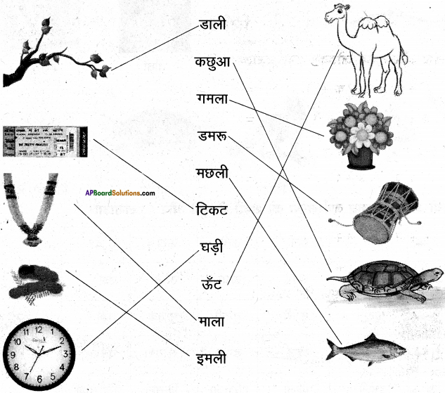AP Board 6th Class Hindi Solutions Chapter 3 ऊँट चला 24
