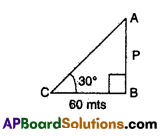 AP 10th Class Maths Bits Chapter 11 Trigonometry with Answers 32