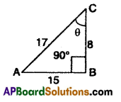 AP 10th Class Maths Bits Chapter 11 Trigonometry with Answers 35