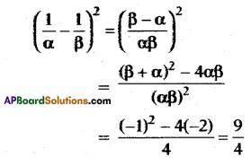 AP 10th Class Maths Bits Chapter 3 Polynomials Bits 32