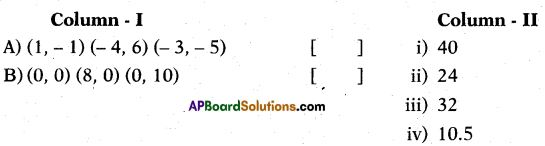 AP 10th Class Maths Bits Chapter 7 Coordinate Geometry with Answers 15