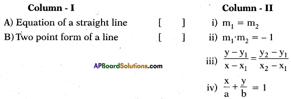 AP 10th Class Maths Bits Chapter 7 Coordinate Geometry with Answers 16