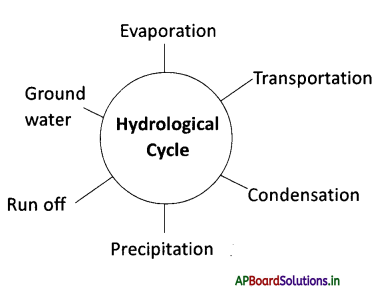 AP Board 9th Class Social Studies Notes Chapter 3 Hydrosphere 1