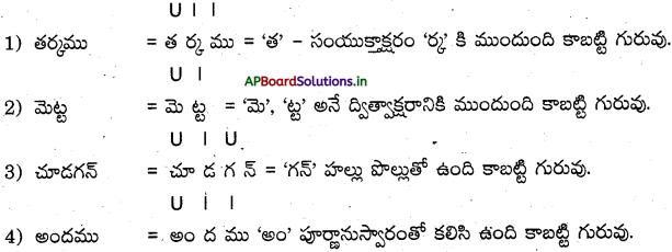 AP Board 7th Class Telugu Grammar 5