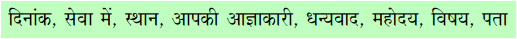 AP Board 7th Class Hindi Solutions Chapter 6 छुट्टी पत्र 2