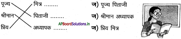 AP Board 7th Class Hindi Solutions Chapter 6 छुट्टी पत्र 3